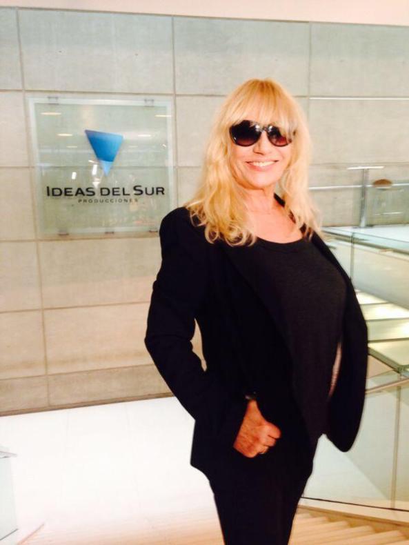 @cuervotinelli: Bienvenida Mimi Pons, nueva figura del Bailando 2014.